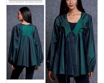 Misses' Jacket Vogue Sewing Pattern V1609