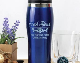 Coach Travel Mug - Blue