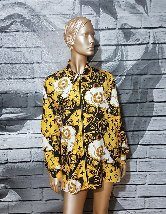 Baroque silk shirt