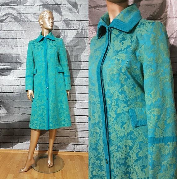 Brocade long jacket