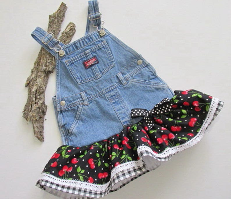 f218d9e402 4T little girl overall tutu jumper. Toddler ruffle dress with