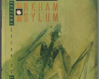 DC Comics Arkham Asylum: A Serious House on Serious Earth TP Graphic Novel 1st Print Grant Morrison Dave McKean