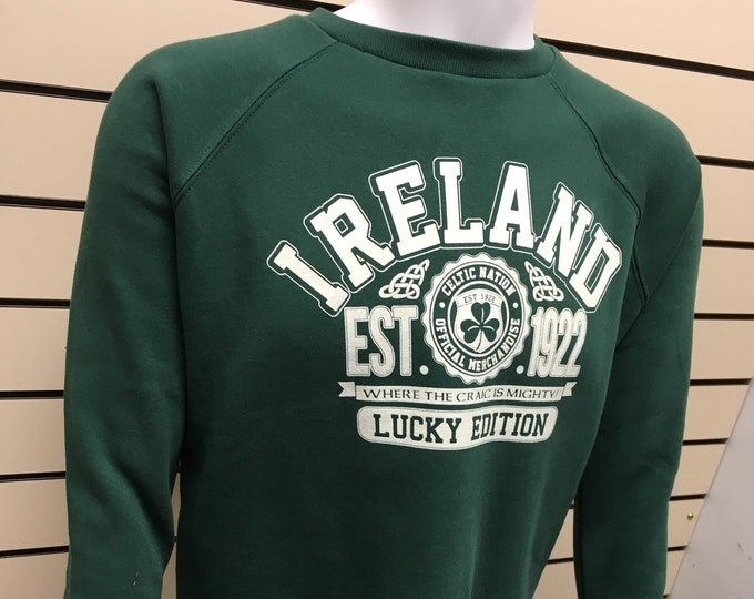 Ireland Sweatshirt - St Patricks Day Sweatshirt - made in ireland - Free Shipping
