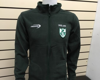 Ireland fleece Jacket- St Patricks Day Sweatshirt - made in ireland