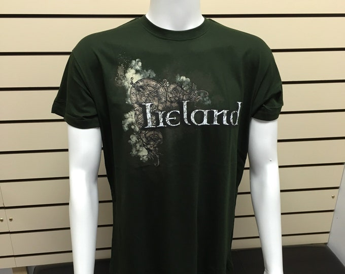 Ireland T-shirt, mens classic t-shirts made in ireland - FREE SHIPPING