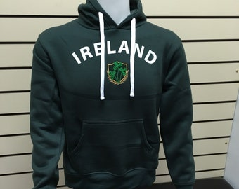 Ireland unisex hoodie St Patricks Day - made in ireland - Free Shipping