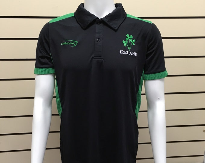 Ireland T-shirt, shamrock performance t-shirt, landsdown collection. - Free Shipping