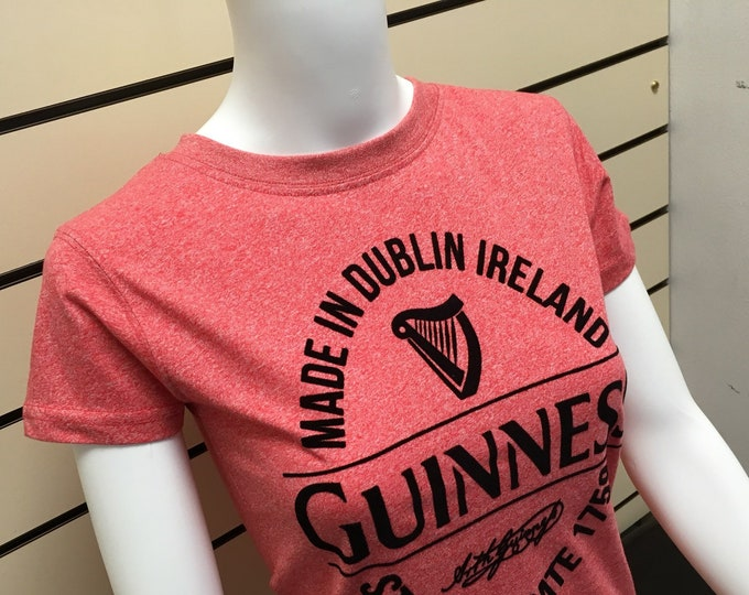Ladies Guinness T-Shirt - made under license from Guinness - Official Guinness Merch.