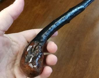 Blackthorn Walking Stick -Handmade in Ireland - shillelagh -  34 3/4 inch