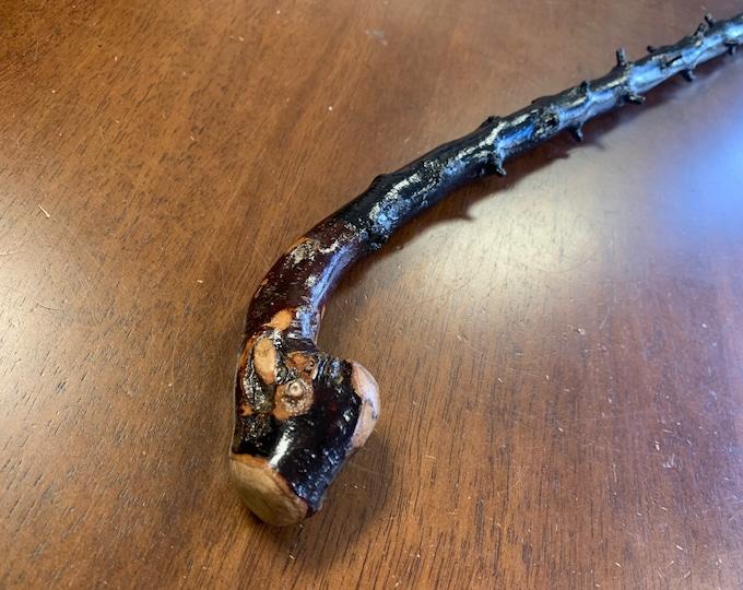 Blackthorn Walking Stick  - Handmade in Ireland - shillelagh - 31 1/2 inch- extra thorny