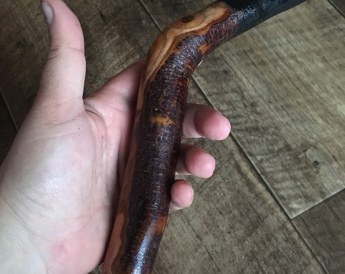 Blackthorn Walking Stick - 35 inch Handmade in Ireland by me