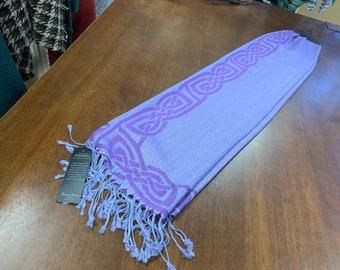 Purple Celtic Scarf