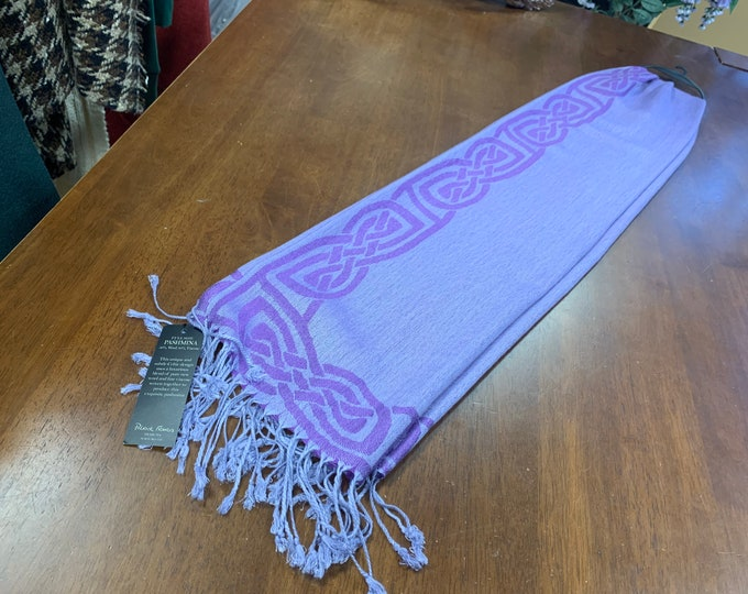 Purple Celtic Scarf