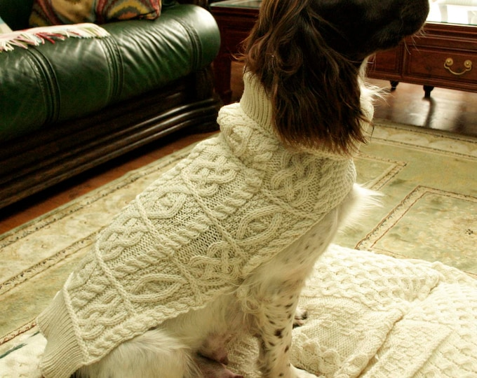 Irish Fisherman Sweaters for Dogs