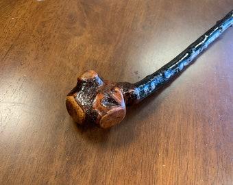 Blackthorn Walking Stick  - Handmade in Ireland - shillelagh - 36 inch - extra thorny