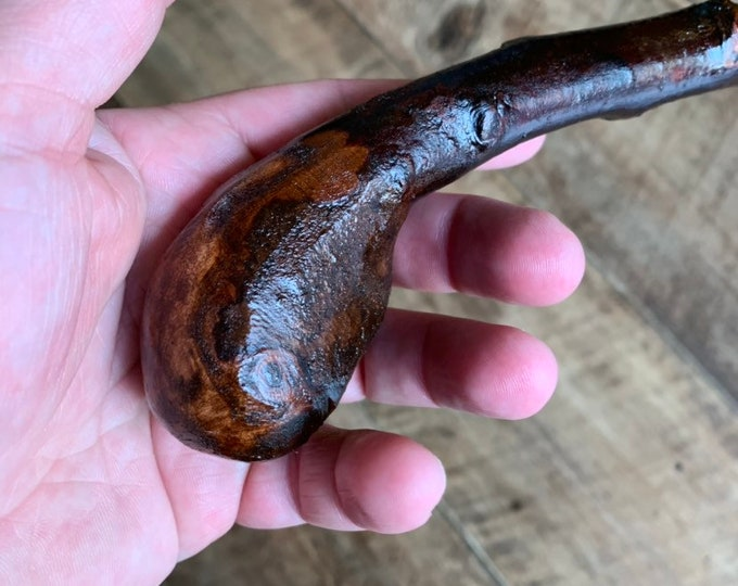 Blackthorn Walking Stick -Handmade in Ireland - shillelagh - 34 1/4 inch