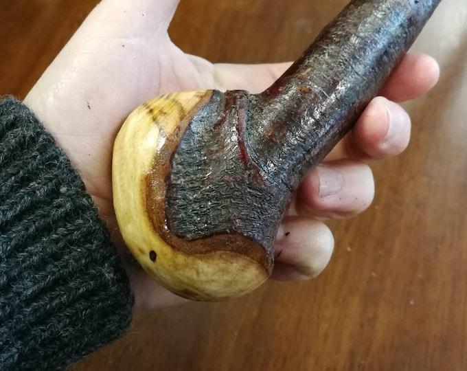 Blackthorn Walking Stick -Handmade in Ireland - shillelagh -  37 inch