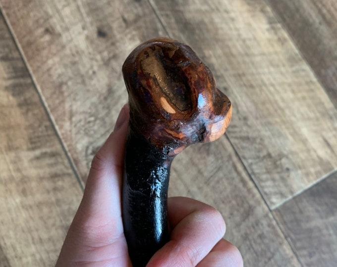 Blackthorn Walking Stick -Handmade in Ireland - shillelagh - 36 1/2 inch
