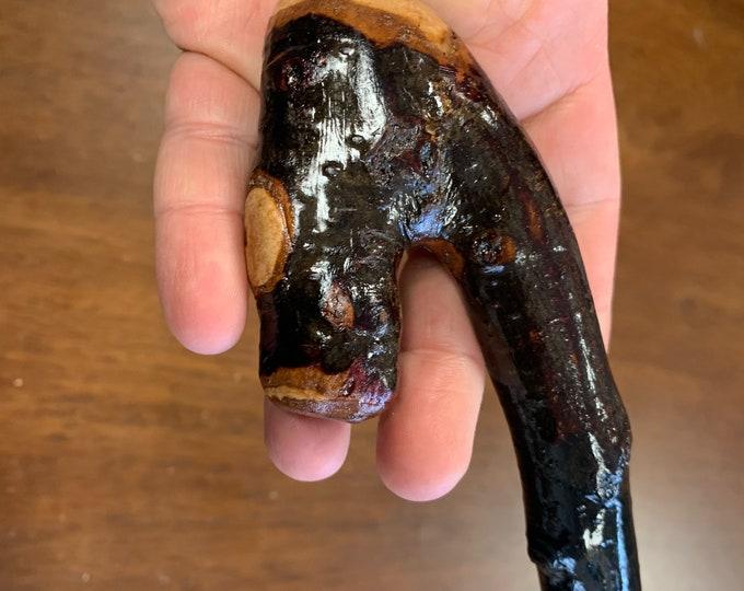Blackthorn Walking Stick  - Handmade in Ireland - shillelagh - 40 1/2 inch- extra thorny