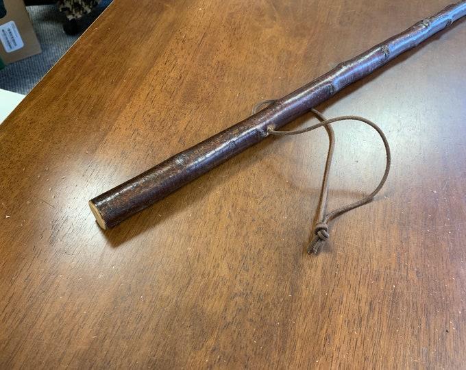 Blackthorn Hiking Staff pole 54 inch - Handmade in Ireland by me - beautiful  handle