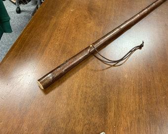 Blackthorn Hiking Staff pole 51 inch - Handmade in Ireland by me - beautiful  handle