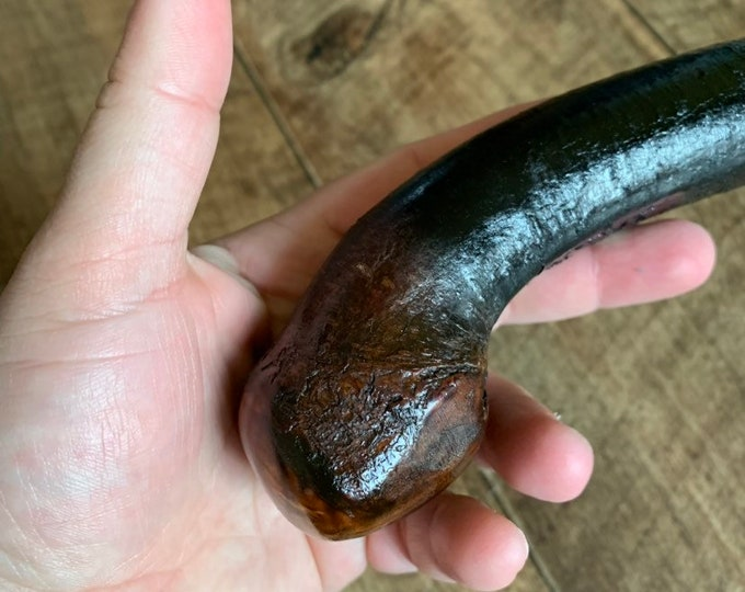 Blackthorn Walking Stick -Handmade in Ireland - shillelagh - 38 1/4 inch