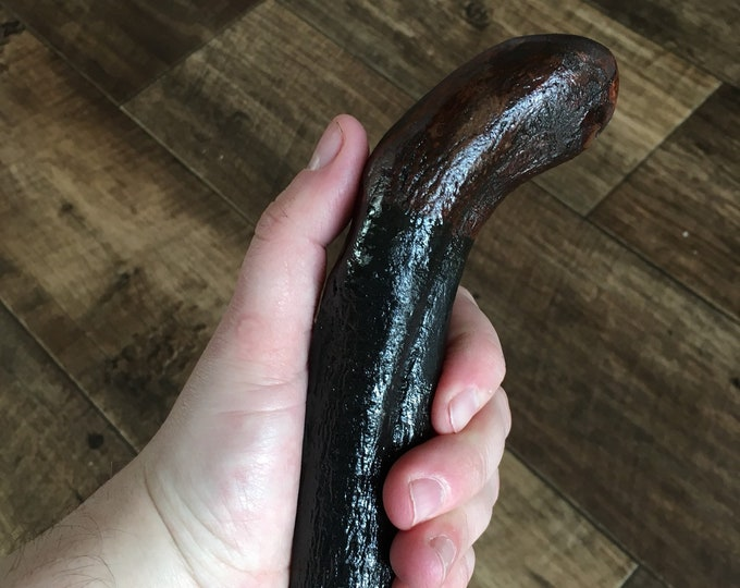 Blackthorn Walking Stick -Handmade in Ireland - shillelagh - 38 inch