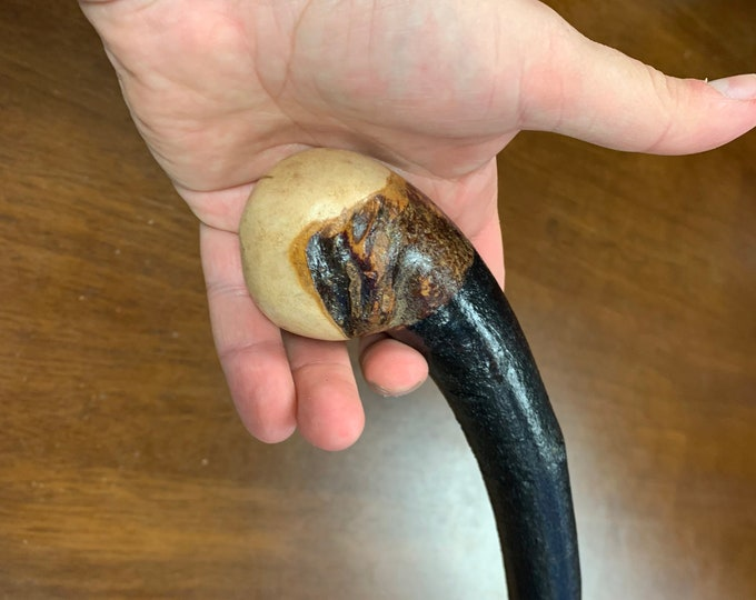 Blackthorn Walking Stick -Handmade in Ireland - shillelagh - 36 3/4 inch