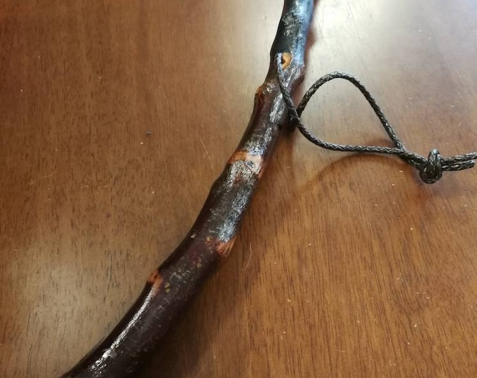Blackthorn Hiking Staff pole 50 3/4 inch - Handmade in Ireland by me - beautiful  handle