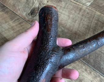 19 1/2 inch Irish Shillelagh Blackthorn  - Handmade in Ireland - This is not a walking stick but a shillelagh