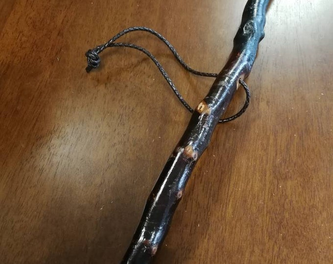 Blackthorn Hiking Staff pole 52 inch - Handmade in Ireland by me - beautiful  handle