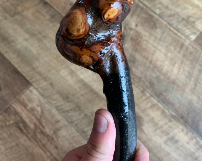 Blackthorn Walking Stick -Handmade in Ireland - shillelagh - 36 inch - lightweight