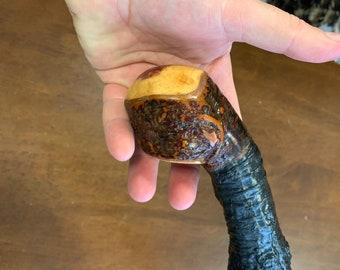 Blackthorn Walking Stick  - Handmade in Ireland - shillelagh - 38 1/4 inch