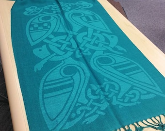 Green Celtic Scarf