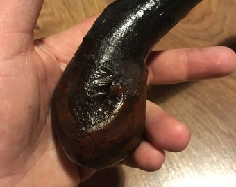 Blackthorn Walking Stick - 33 3/4 inch Handmade in Ireland by me