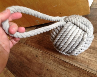 Door Stop - Handmade Door Stopper- Fisherman's Rope