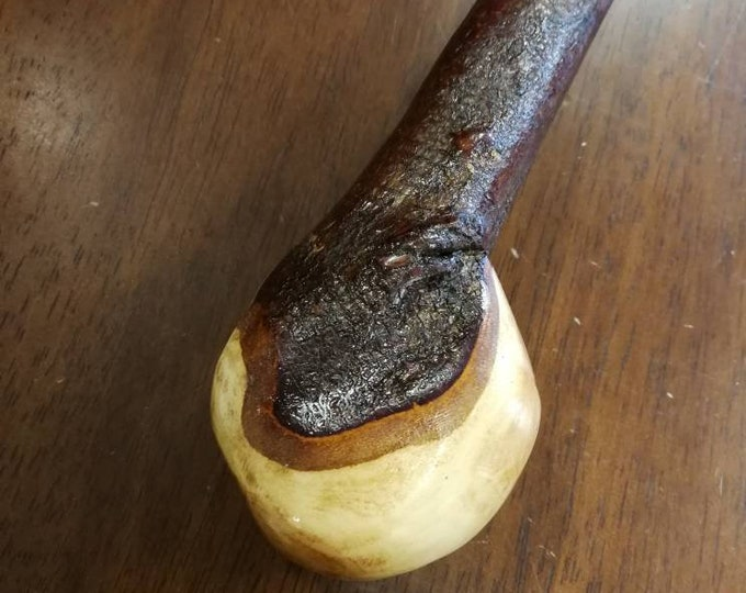 Blackthorn Walking Stick -Handmade in Ireland - shillelagh -  38 1/2 inch