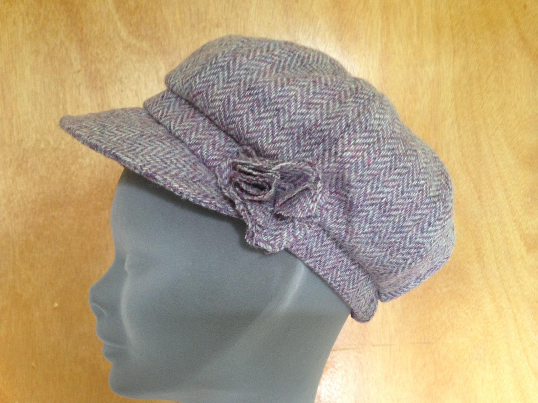 d4684d26671 ... Womens Irish Bakerboy Hats -Herringbone Newsboy Cap - Plaid. 1
