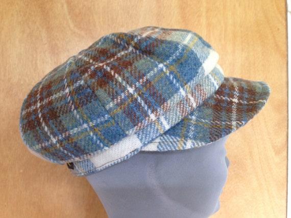 220172bb9a0 Ladies Newsboys Cap Hat 100% Tweed Wool Donegal Tweed Hats