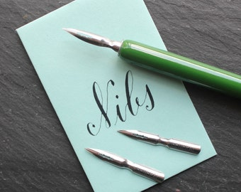 General Drawing Calligraphy Nib. Set of 2. Calligraphy Kit. Modern Calligraphy. A great nib for beginners!