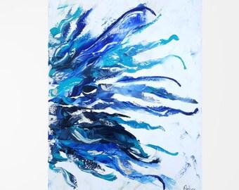 "Abstract painting Abstract art Original oil painting Abstract oil painting Abstract canvas art Abstract wall art Palette knife art 18x24"""