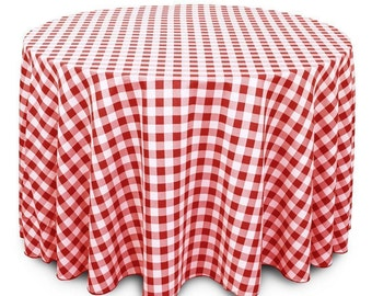 Attrayant Red White Tablecloth | Etsy