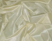 Ivory Taffeta Fabric Faux Silk Taffeta Fabric Fabric By The Yard 58 quot 60 quot