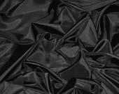 Black Taffeta Fabric Silk Taffeta Fabric Fabric By The Yard 58 quot 60 quot