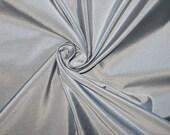Silver Taffeta Fabric Faux Silk Taffeta Fabric Fabric By The Yard 58 quot 60 quot