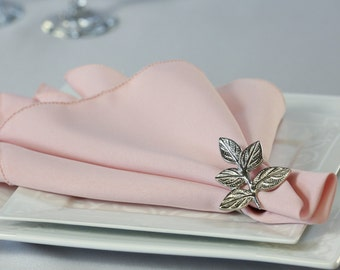 Blush Napkin Polyester