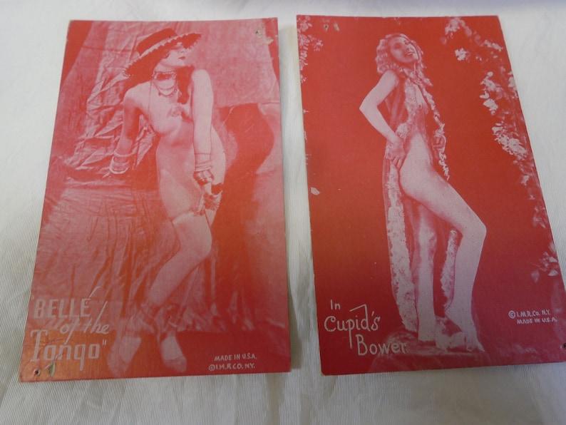 1940s erotic cards