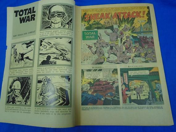 Patrol Total War Comic Book #6 Gold Key Comics 1968 FINE+ M.A.R.S