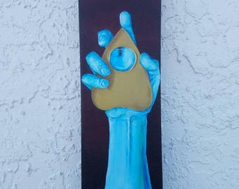 Oujia Plancette Oracle Painting