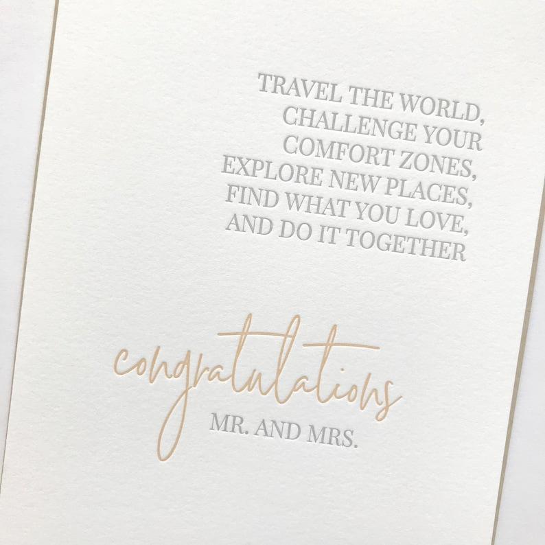 Wedding Congratulations Card Wedding Card Wedding Wedding image 0